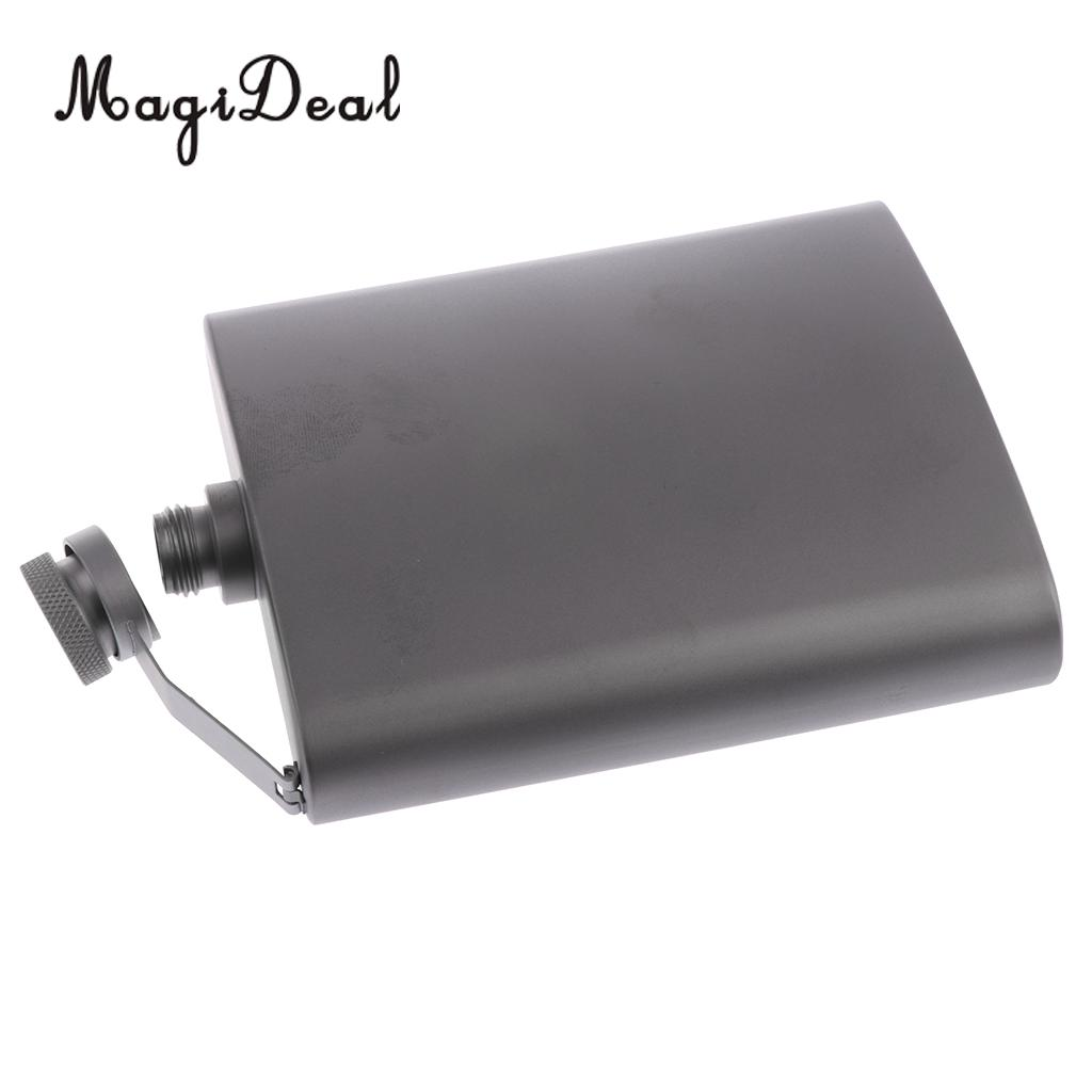 MagiDeal Titanium Hip Flask Pocket Liquor Bottle for Outdoor Camping Hiking Backpacking  MagiDeal Titanium Hip Flask Pocket Liquor Bottle for Out of doors Tenting Mountaineering Backpacking HTB1E4oncbGYBuNjy0Foq6AiBFXaV