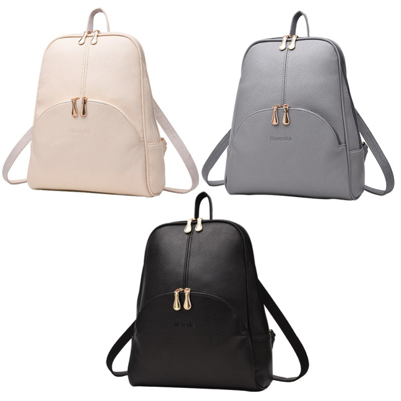 6928338dab49 Nevenka Women Backpack Leather Backpacks Softback Bags Brand Name ...