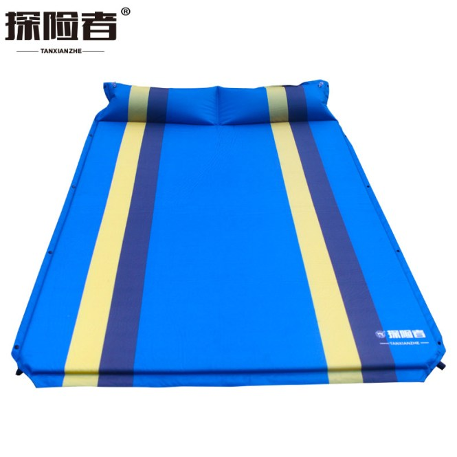 192 130 3cm 2 Persons Outdoor Portable Double Camping Mat Automatic Air Inflatable Mattress