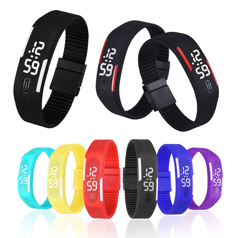 Fashion LED Watch Smart Touch Screen Plastic Rubber Boys