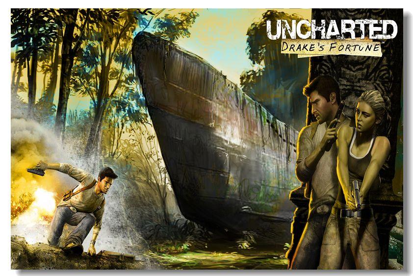Poster do filme Uncharted 1 - O Filme