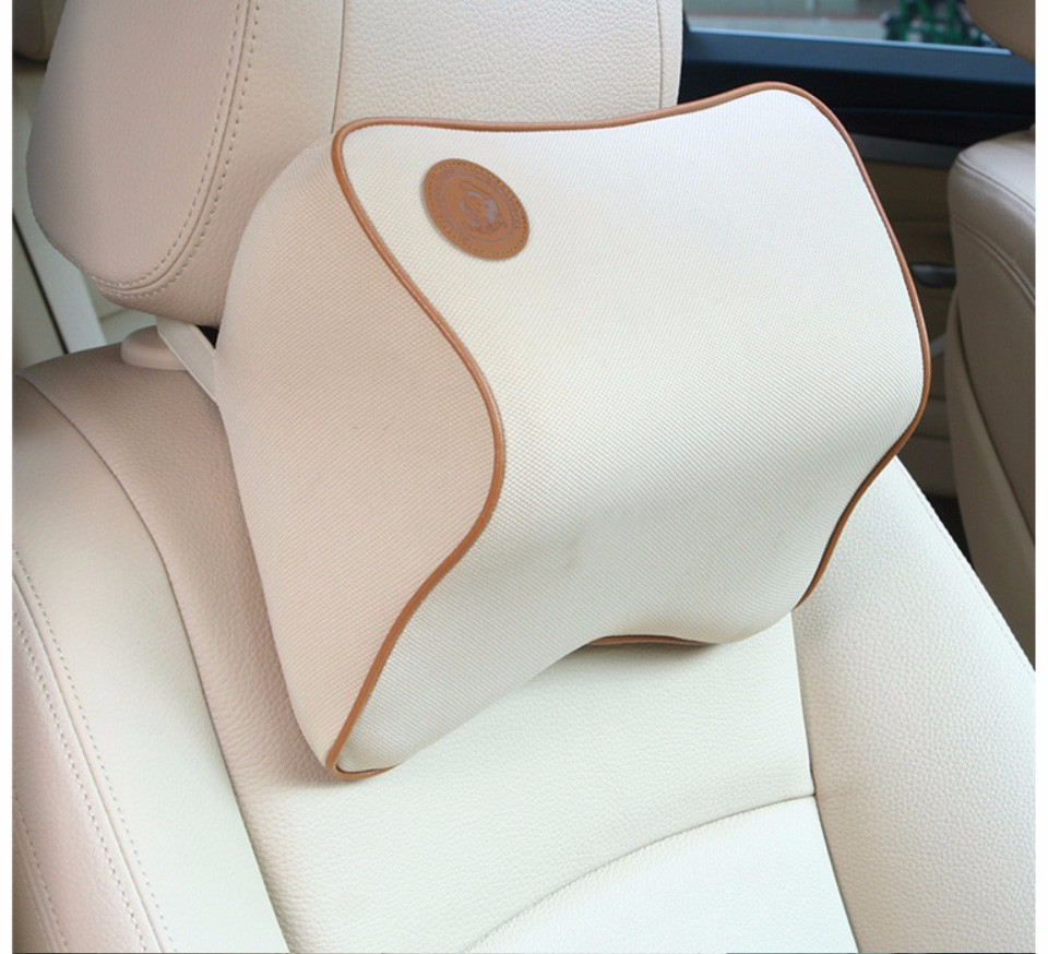 1 Pcs Mobil Headrest Leher Nyaman Indah Mewah Dihiasi Di Suzuki Katana Karpet Comfort Deluxe 12mm Car Mat Full Set Bantal Hot Jual Mini Kendaraan Es Sutra Kursi Aksesoris Miniusd 801 Piece