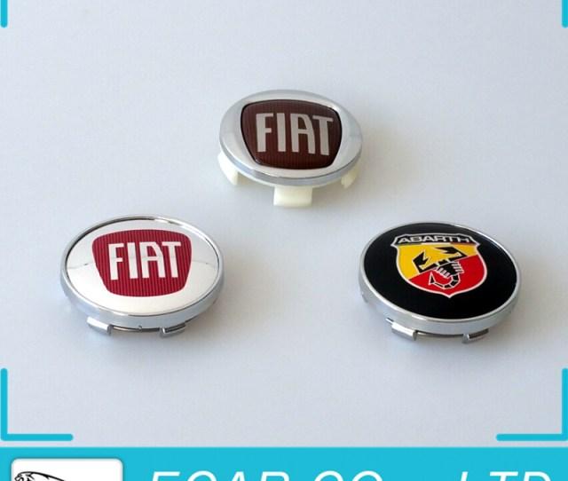 Car Styling Mm Fiat Abarth Auto Car Wheel Center Hub Caps Rim Caps Logo