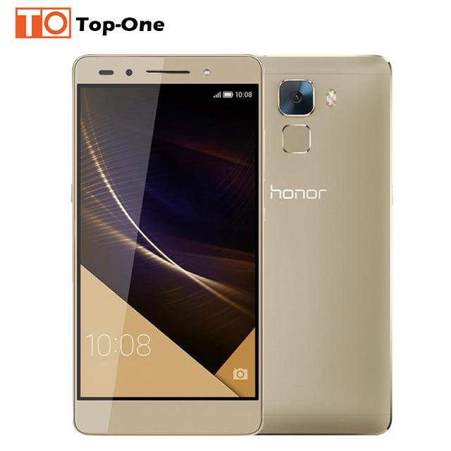 """Оригинальный Huawei Honor 7 64 ГБ ROM 4 г LTE мобильный телефон Octa основной 5.2 """" 1920 x 1080 P 3 ГБ 512ram 20MP камера андроид 5.0 леденец"""