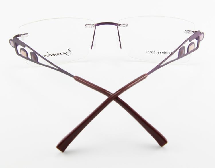 ̿̿̿(•̪ )Mata heran pria tanpa kacamata Stainless steel 95f80dbfd2