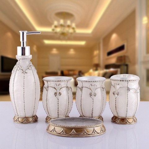 elegant bathroom accessories sets   My Web Value 2015 Modern Fashion Resin Bathroom Accessories Home Decor Elegant Bathroom  Set Sanitary Ware