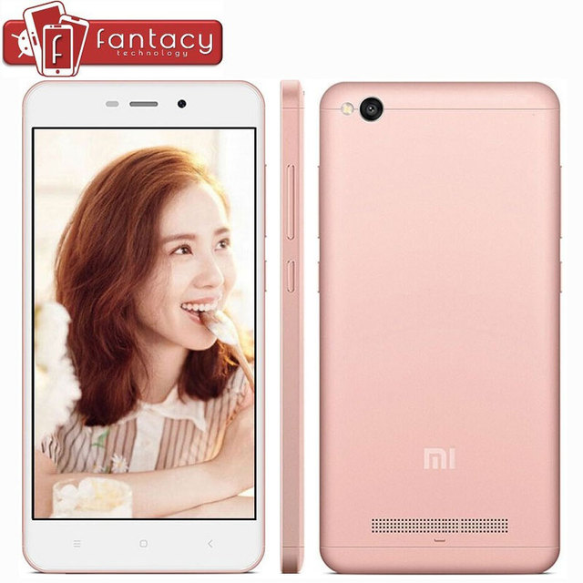 "Original Xiaomi Redmi 4A Global Version 2G RAM 16G ROM Snapdragon425 Quad Core FDD LTE 4G 5"" 13MP 1280x720px MIUI 8 Mobile Phone"