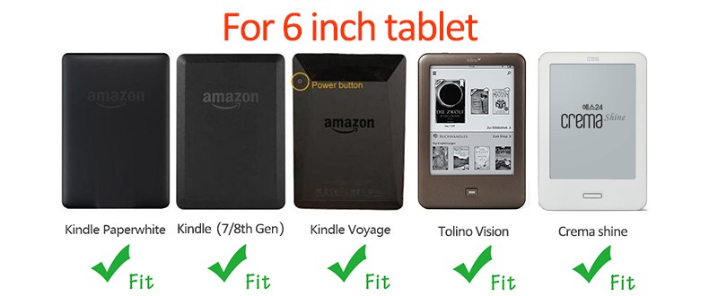 Tablet 6 inch Sleeve Case for Kindle Paperwhite Voyage 7th ...