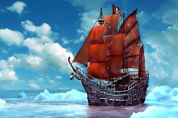 Poster do filme Piratas Modernos