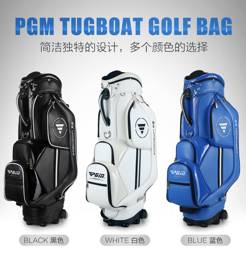 HTB1YUMQKVXXXXcYaXXXq6xXFXXXf - PGM Golf travel bag wheels stand caddy airbag flight aviation aircraft high capacity golf cart bag staff golf bags Labor saving