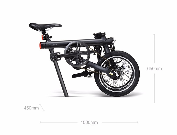 HTB1Ywb7NVXXXXX8aXXXq6xXFXXXR - 16inch Origina XIAOMI electrical bike Qicycle EF1 Mini electrical Ebike good folding  bike lithium battery mijia  CITY EBIKE