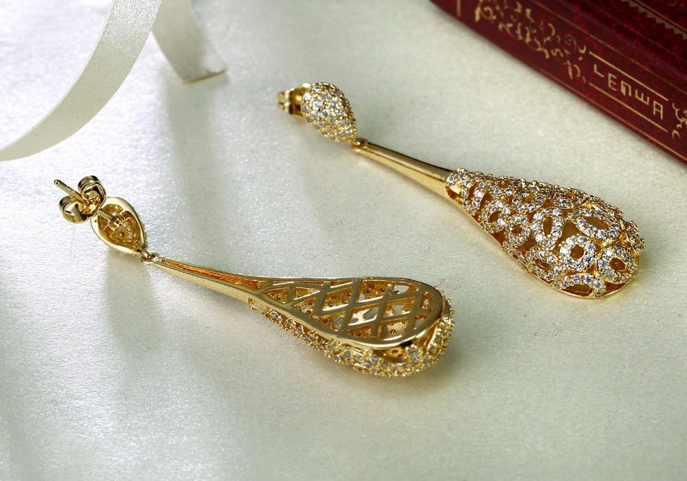ᗑ Baru wanita Earrings Bridal pernikahan perhiasan Kualitas Tinggi ... ecea976910