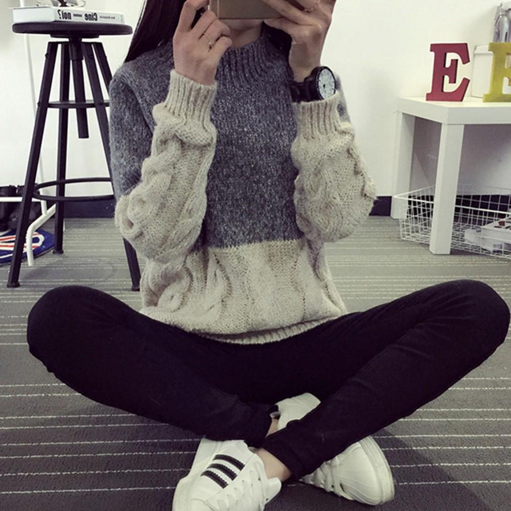Tebal Wanita Lengan Panjang Putar Warm Rajutan Sweater O Neck Comport Carpet Karpet Mercy Cla200 4 Pintu Deluxe 12cm Sa2412k 1 2