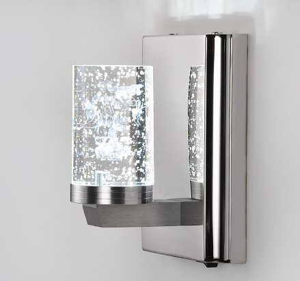 Electroplating Modern LED Bathroom Wall Lights Lamps With ... on Modern Wall Sconce Lights id=58048