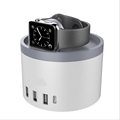 iMobi4 המקורי מטען שולחני תחנת Stand מחזיק הרציף ABS עבור אפל שעונים על iWatch עבור iPhone 5 5S 6/6 פלוס מגנטי