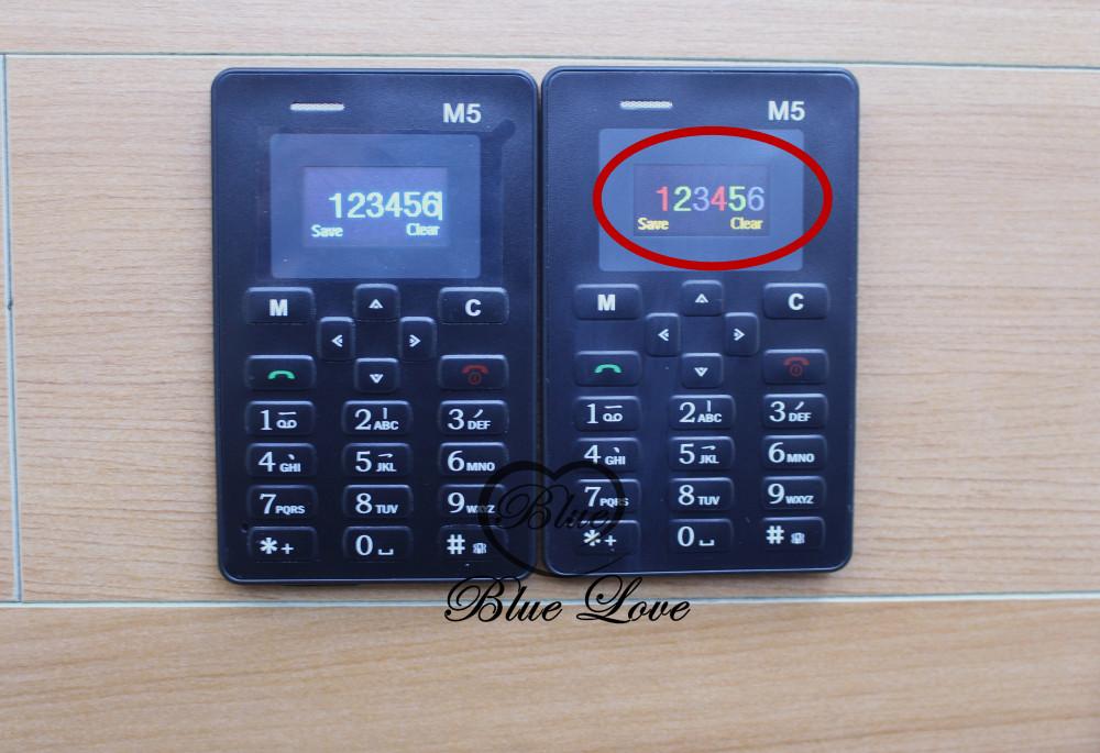 מקלדת רוסית AIEK M5 כרטיס טלפון סלולרי 4.5 מ