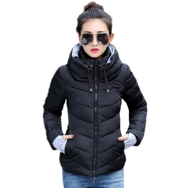 2016 Новый женщины плюс размер длинным рукавом теплый свет вниз мягкий зимняя куртка женщин парки для женщин зимнее пальто мода куртка