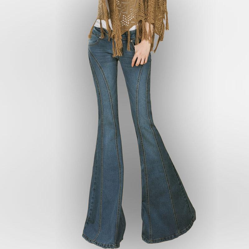 Big Bell Bottom Jeans For Women