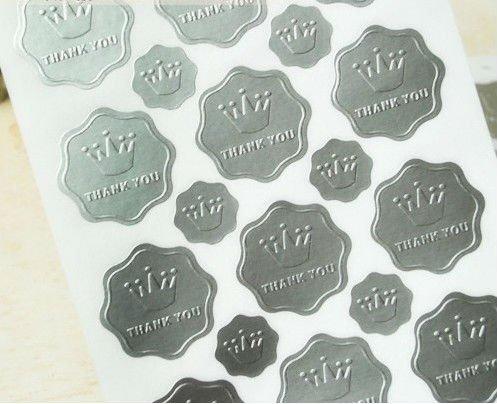 Stickers 55mm Circle X15 St030