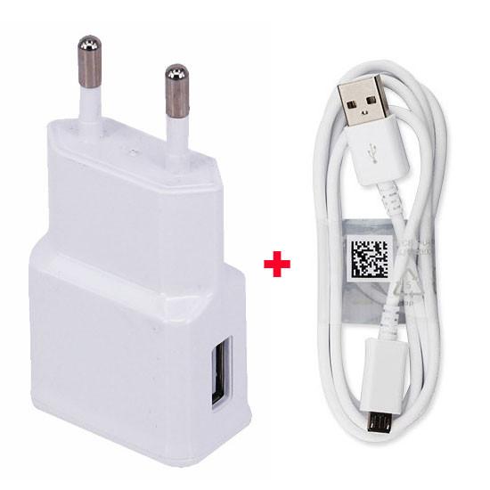 2A האיחוד האירופי נסיעות USB נייד טלפון נייד מתאם מטען +כבל נתונים USB עבור LG X קאם,LG מסך X חרט 2,ZTE Grand X Max+