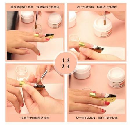 Image Led Apply Gel Nails Step 11