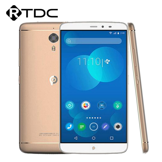"Original PPTV King 7 4G LTE Mobile Phone Helio X10 MTK6795 Octa Core 6.0"" 2560x1440 3GB RAM 32GB ROM 13.0MP Quick Charge"