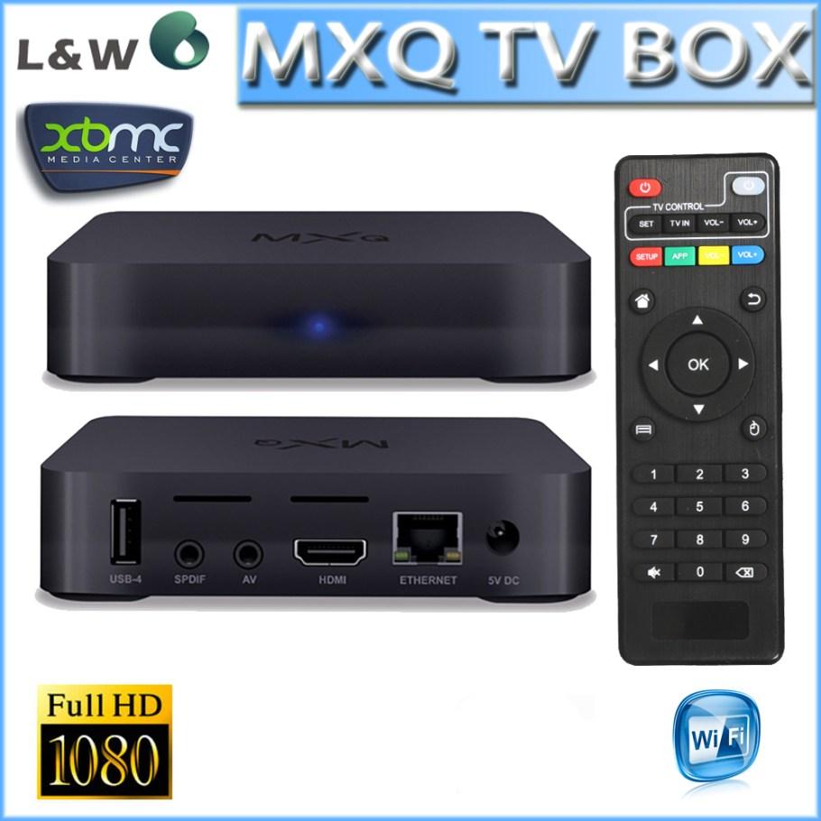 Новый MXQ TV BOX 1 ГБ / 8 ГБ MX Amlogic S805 четырехъядерный процессор Android 4.4 Kitkat 4 К XBMC wi-fi MXQ Amlogic S805 смарт-телевизор бокс бесплатная доставка Цена: 30.16 EUR