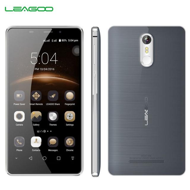 Original LEAGOO M8 16GB/2GB Smartphone 0.19s Fingerprint 5.7'' 2.5D Arc Freeme 6.0 MTK6580A Quad Core up to 1.3GHz Dual SIM GPS