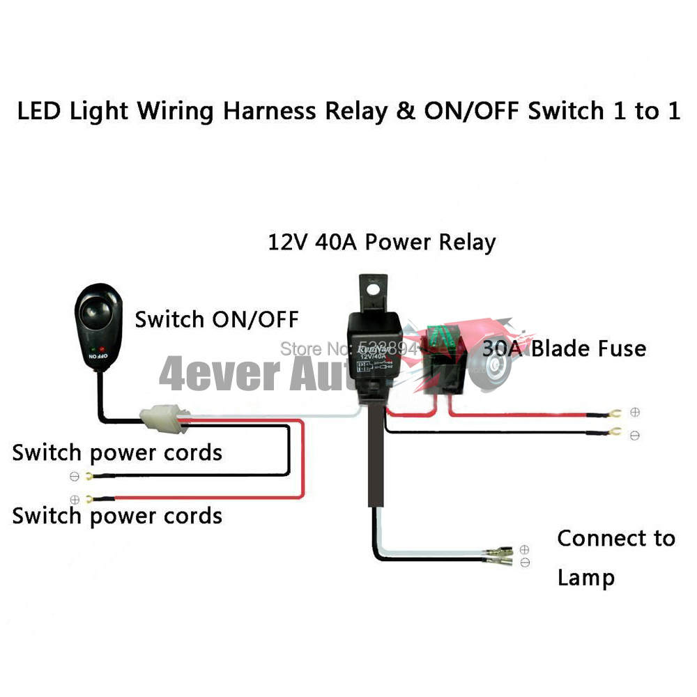 Hid Off Road Lights Wiring Diagram Led Light