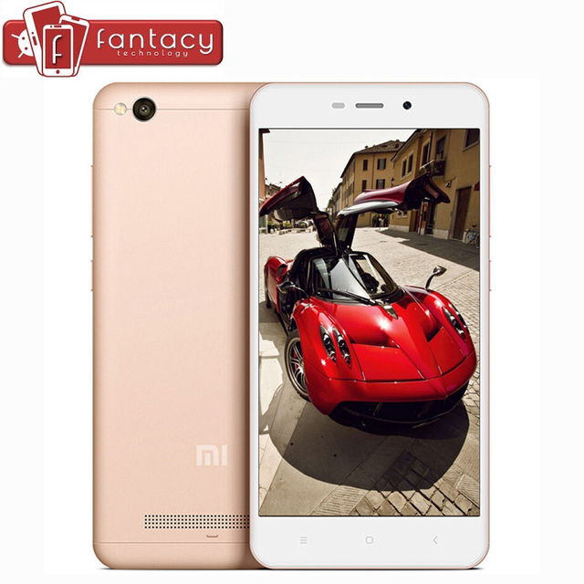 "Original Xiaomi Redmi 4A Pro 2G RAM 32G ROM Snapdragon 425 1.4GHz Quad Core FDD LTE 4G 5"" HD 13MP 1280x720p MIUI 8 Cell Phone"