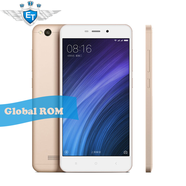 Original Global Version Xiaomi Redmi 4A Mobile phone 5.0 inch RAM 2GB ROM 16GB Snapdragon 425 Quad Core 13MP Camera MIUI 8
