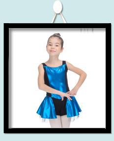 Penari Pilihan Nylon Lycra Lengan Pendek Gaun Gadis Rok Hitam Wanita  Dancewear Tari Resital Balet Triko Mengitari Bodysuit ae0f601713