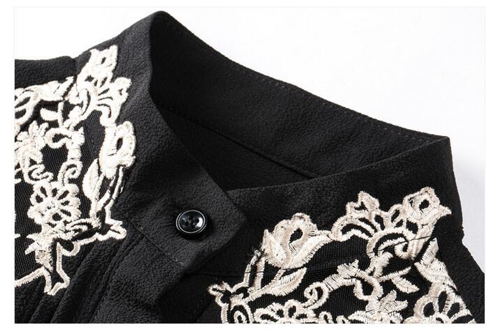 HTB1tGjBOVXXXXcHXpXXq6xXFXXXr - 2017 Spring Women Elegant Hollow Princess Long Sleeve Brand Silk Blouse Shirts white/black embroidery Shirts Tops Female Blusas