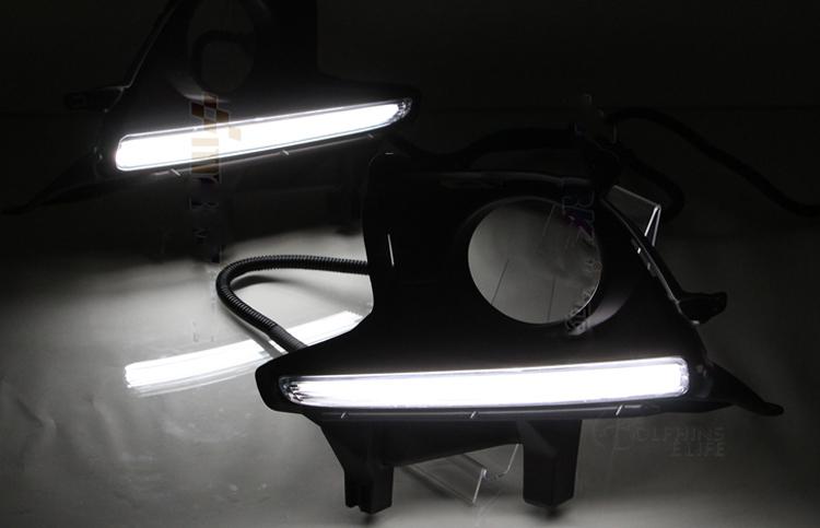 12V LED Guiding Daytime Running Light For Toyota Highlander Kluger 2014 2015 2016 DRL With Fog?resize\\\=665%2C428 international dt466 wiring diagram 02 gandul 45 77 79 119  at aneh.co