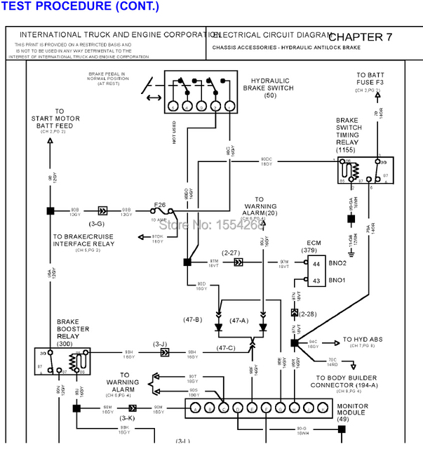 International trucks manuals and diagrams_640x640?resize\=603%2C640 international truck ac wiring diagram on international download International Truck Electrical Diagrams at reclaimingppi.co
