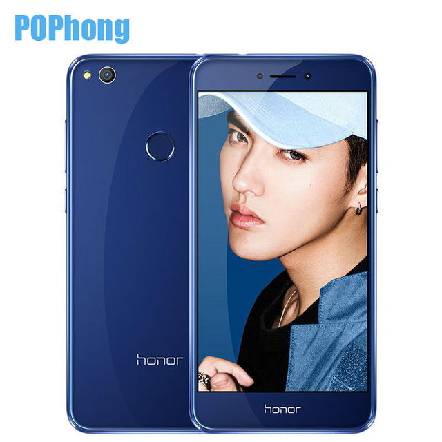 Original Huawei Honor 8 Lite 4GB RAM 64GB ROM 5.2 Inch 3000mAh Multi Language 12.0MP Camera Mobile Phone Hisilicon Kirin 655
