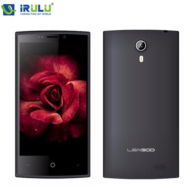 "IRULU LEAGOO ELITE 8 4 Г LTE Android 5.1 MTK6735M Quad Core Мобильный Телефон 4.0 ""IPS Экран Смартфона 4 ГБ ROM 5MP Dual Sim"