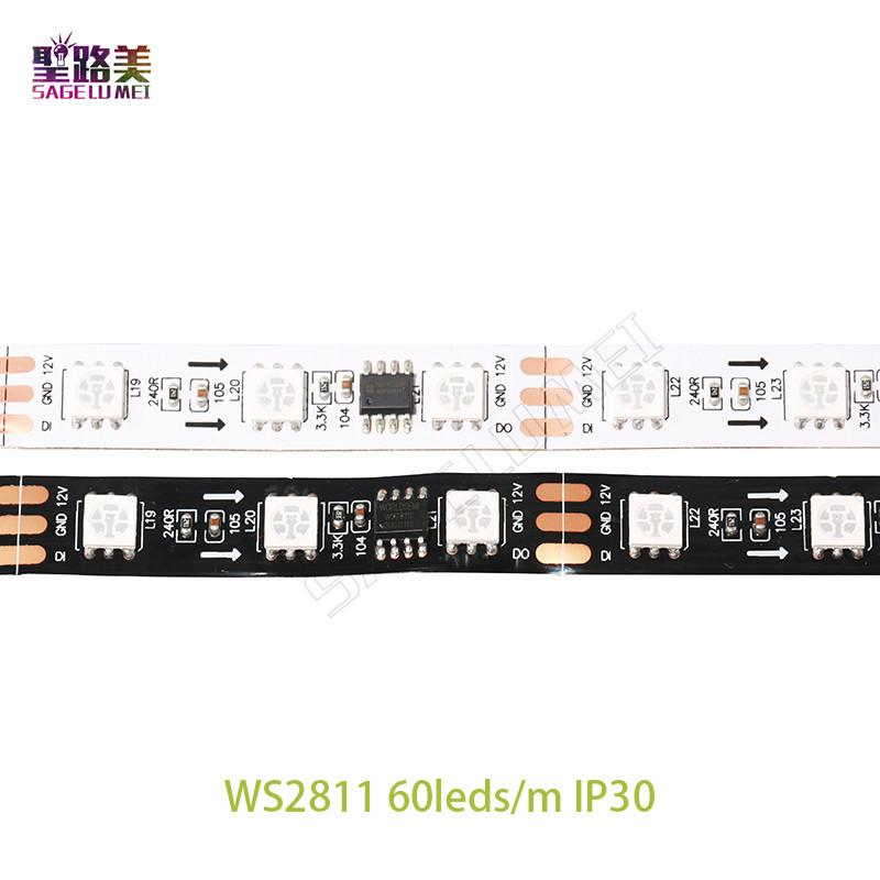 5m-roll-DC12V-ws2811ic-SMD5050-RGB-led-strip-dream-addressable-Digital-30-48-60leds-1-ic6