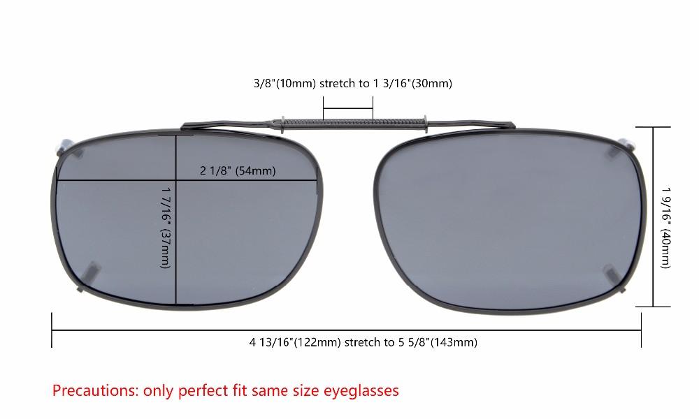 ᗑEyekepper C64 Campuran Abu-abu Coklat G15 Lens 3-pack Clip-on ... 41bd9e6afa