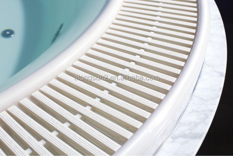 Swim Pool Dbordement Caillebotis Spa Piscine Couverture