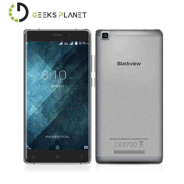 Оригинал Blackview A8 Макс Мобильного Телефона MTK6737 1.3 ГГц Quad Core 5.5 Дюймов HD Экран Android 6.0 3000 мАч Батареи 4 Г LTE смартфон
