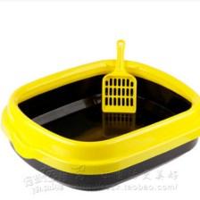 Semi-closed basin of cat litter pet supplies the c...
