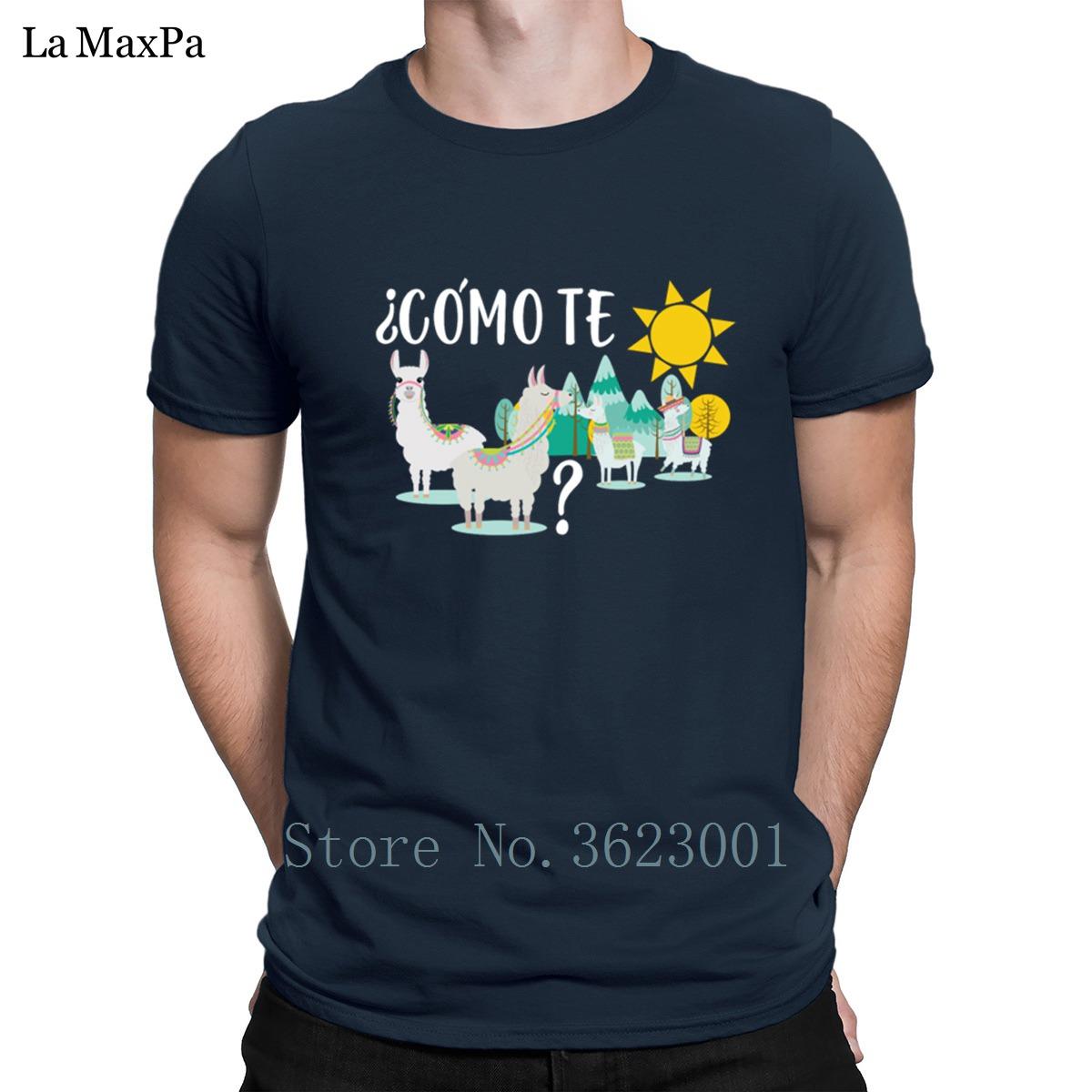 New Fashion Pattern T Shirt Spring Autumn Como Te Llama