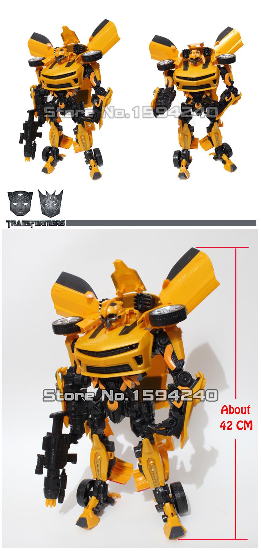 AA1 Action Figure toys 42cm robot Bumblebee Robocar car model Toys for children Education brinquedos meninos