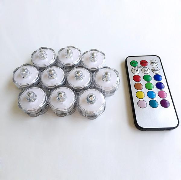 Remote Control Led Tea Lights