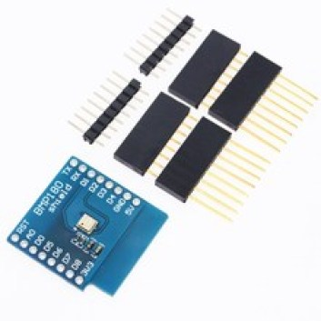 Wemos Mini and the BMP180 shield - esp8266 learning