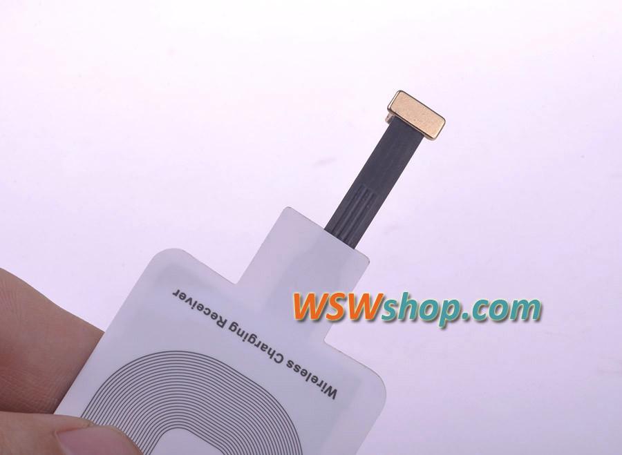 האיכות הטובה ביותר צ 'י מקלט צ' י מטען אלחוטי מקלט עבור Iphone 5 5S 5C 6 6 פלוס הטוב ביותר בשוק הזהב פלוס + ייבוא IC