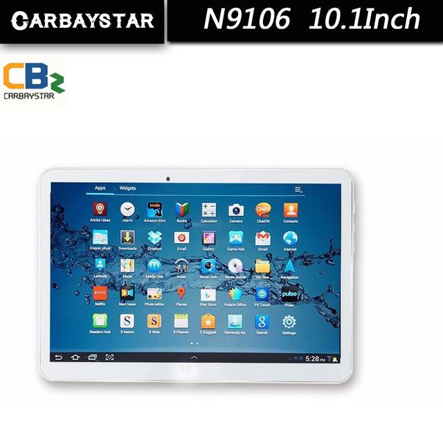 Вызова сенсорный смартфон android tablet pc 3 г + 10.1 дюймов RAM 2 ГБ ROM 32 ГБ tablet шт планшетный компьютер таблетки CARBAYSTAR N9106
