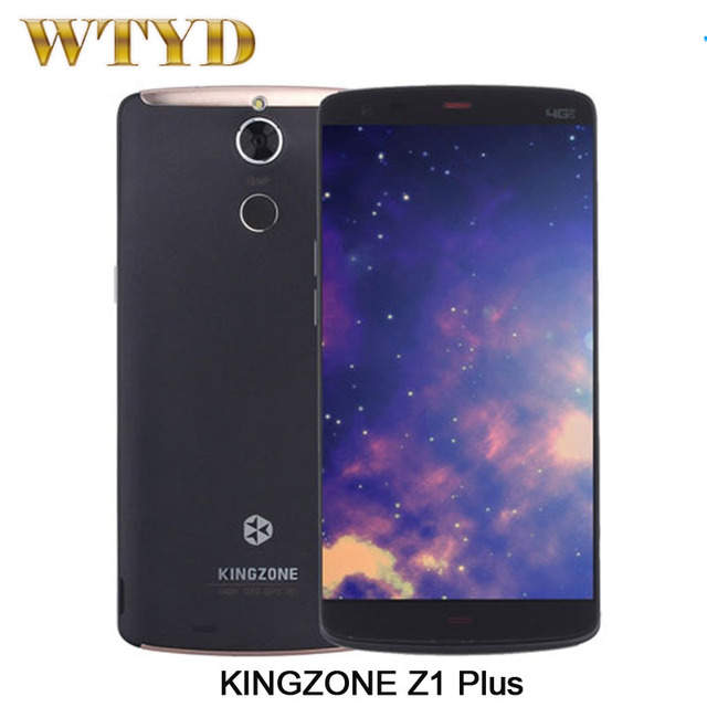 KINGZONE Z1 Plus Smartphone Fingerprint Identification 5.5'' Android 5.1 MT6753 Octa Core 1.3GHZ RAM 2GB+ROM 16GB Network 4G OTG