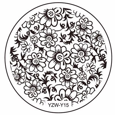 Yzwle 1 Pc 20 Desain Tersedia Yzw Y Stamping Piring Renda Bintang